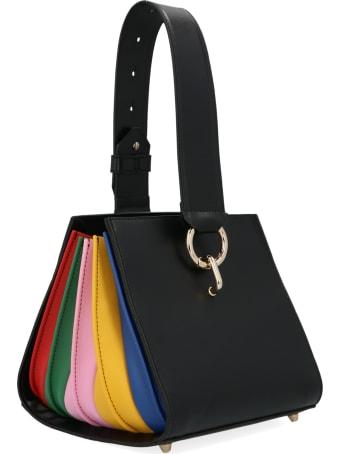 Sara Battaglia 'cubo Plissè' Bag
