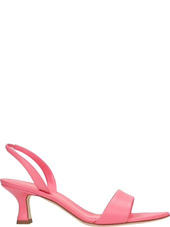 3JUIN Orchid 050 Sandals In Rose-pink Leather