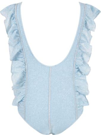 Oseree Light Blue Swimsuit For Girl