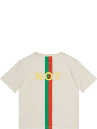Gucci White T-shirt With Print