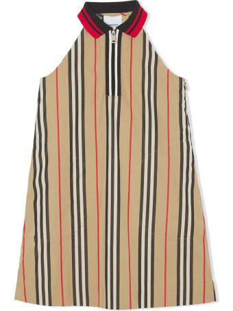 Burberry Beige Cotton Dress