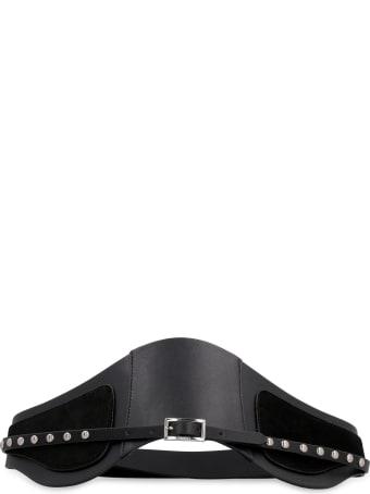 Pinko Gufare Leather Belt