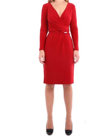 Ralph Lauren Lauren Ralph Lauren Red Alexie Dress