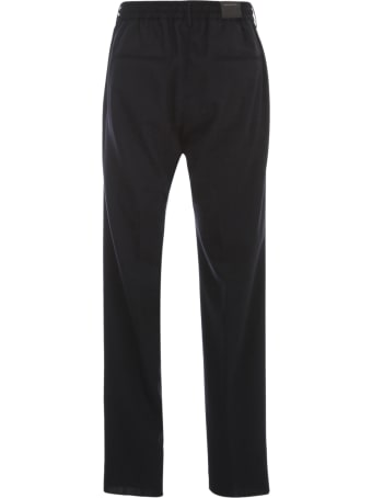 Tagliatore Wool Pants W Coulisse
