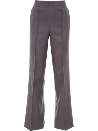 Prada Linea Rossa Trousers With Side Band