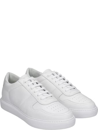 National Standard Edition 11 Sneakers In White Leather