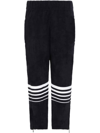 Raquette Blue Sweatpants For Kids With Logo