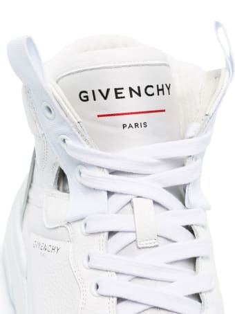 Givenchy Woman White Wing High Sneakers