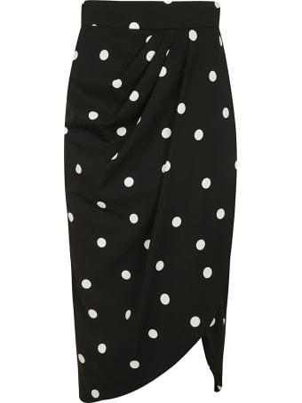 Dolce & Gabbana Dotted Print Skirt