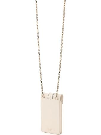 Roger Vivier Miss Vivier Crystal Buckle Phone Bag