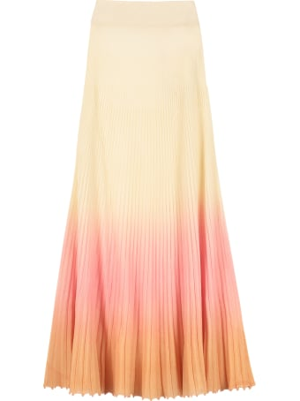Jacquemus Ribbed Knit Skirt