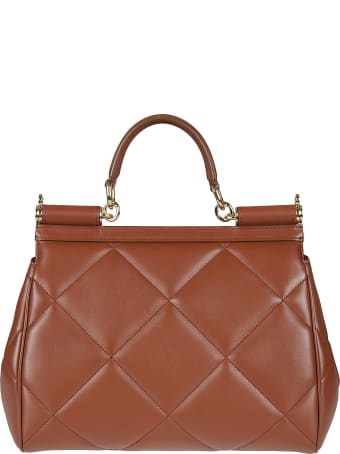 Dolce & Gabbana Padded Flap Tote