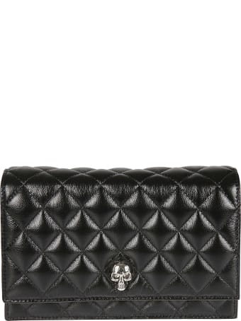 Alexander McQueen Quilted Chain Strap Mini Shoulder Bag