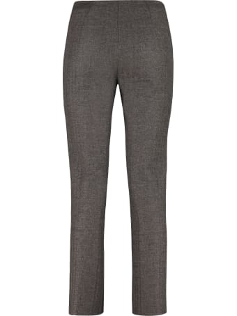 Fendi Flannel And Cashmere Trousers