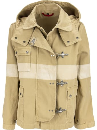 Fay 4 Hooks Cotton Jacket