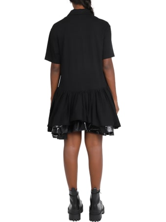besfxxk Black Princess Polo Dress