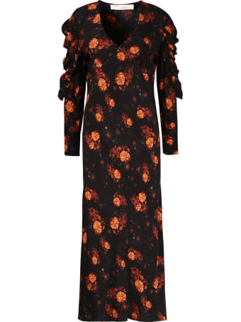 IRO Louve Floral Long Dress