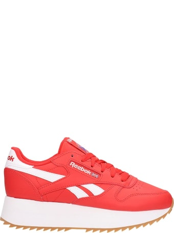 Reebok Red Canvas Style 36 Sneakers Sneakers