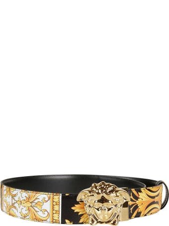 Versace Medusa Buckled Belt