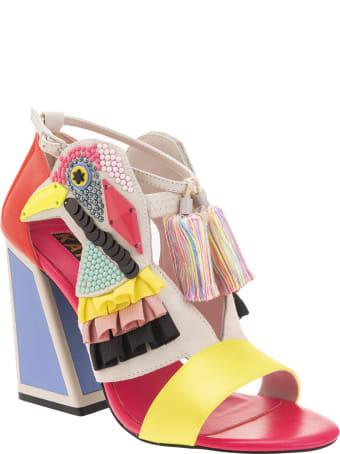 Kat Maconie Aya Colour Heel Sandals