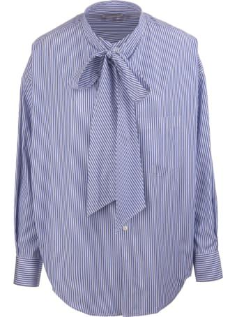 Balenciaga Over Striped Shirt