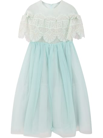 Elie Saab Tiffany Dress For Girl With Iconic Logo
