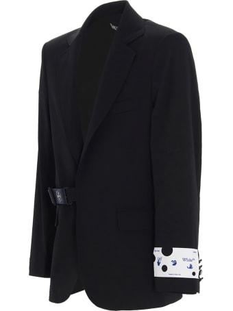 Off-White 'strap Fastening' Blazer