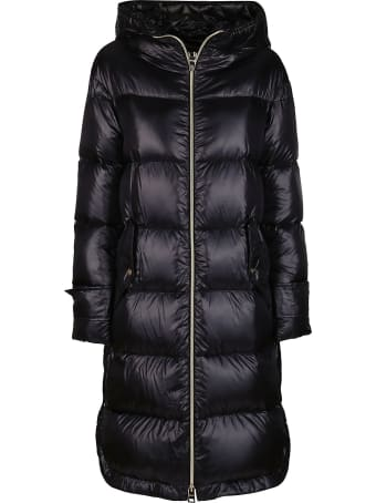Herno Black Padded Coat