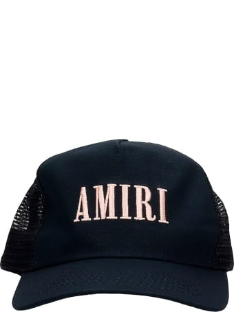 AMIRI Core Trucker  Hats In Black Cotton