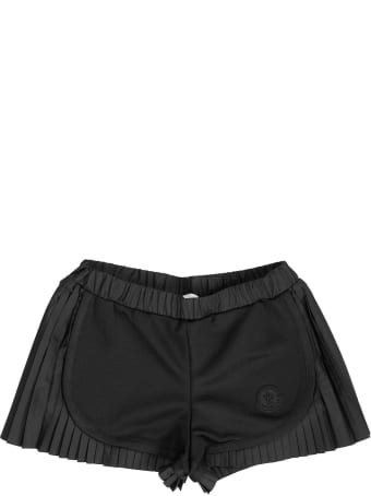Moncler Pleated Shorts Black