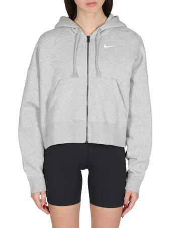 Nike Cropped Hoodie With Zip