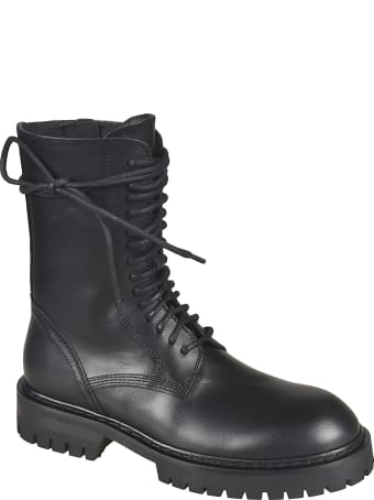Ann Demeulemeester Tucson Lace-up Boots
