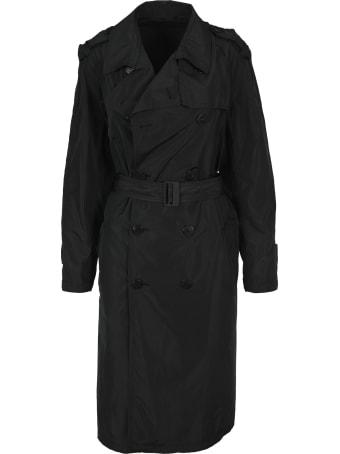 Neil Barrett Frayed Trench Coat