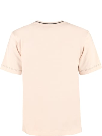 Fendi Logo Cotton T-shirt