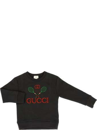 Gucci Gucci Tennis Embroidered Sweatshirt