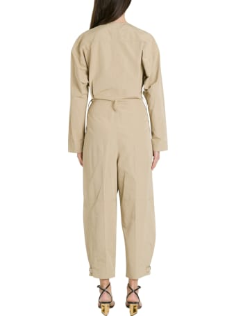 Givenchy Cargo Jumpsuit In Taffeta