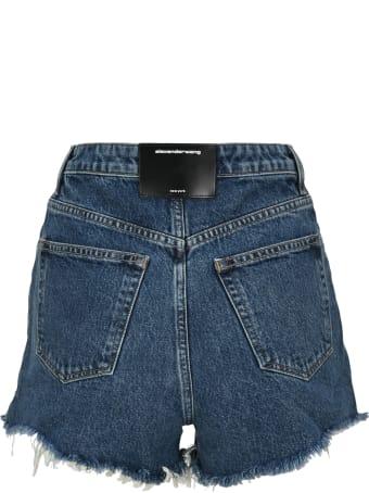T by Alexander Wang Turn Down Denim Shorts