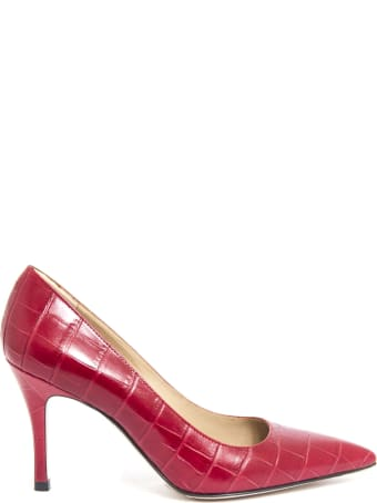 Roberto Festa New Emma Pumps In Red Leather