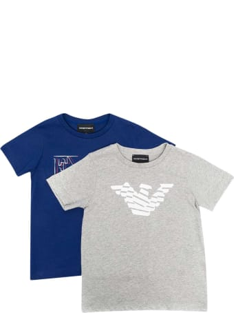 Emporio Armani Set Of Teen T-shirts