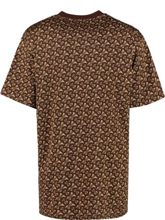 Burberry Printed Oversize T-shirt