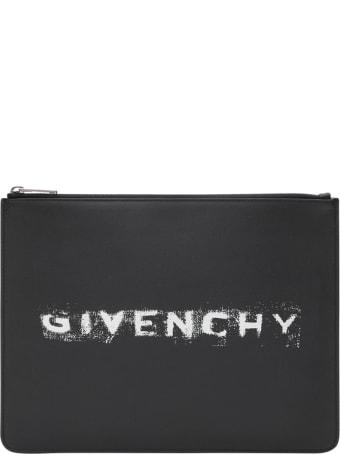 Givenchy Spray Logo Pouch