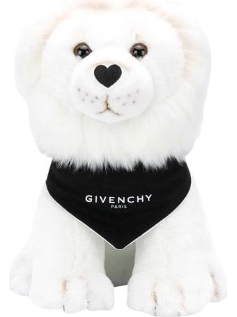 Givenchy White Lion Plush