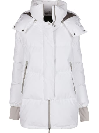 Herno White Laminar Down Jacket