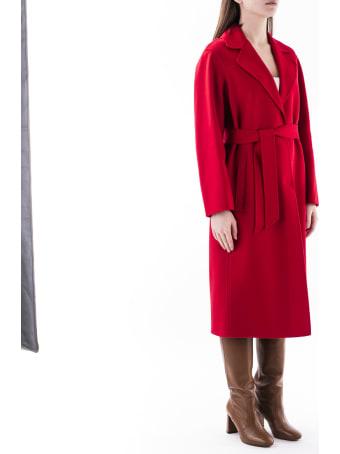 Max Mara Studio Coat In Wool Blend