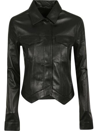 RTA Asymmetric Leather Jacket