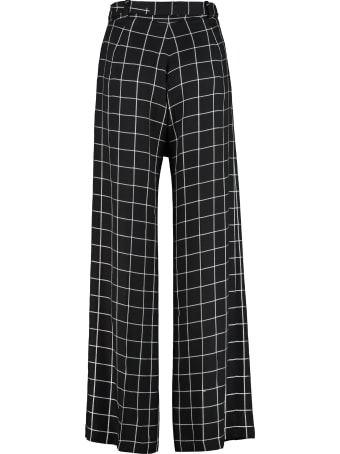 Mother Of Pearl Wendy High-waist Wide-leg Trousers
