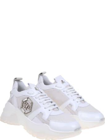 Philipp Plein Sneakers Runner White Color