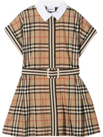 Burberry Vintage Check Teen Dress