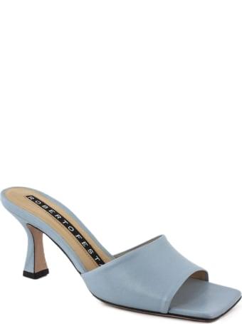 Roberto Festa Exalta Avion Leather Sandal