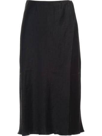 Nanushka Zarina Skirt Satin Elastic Waist